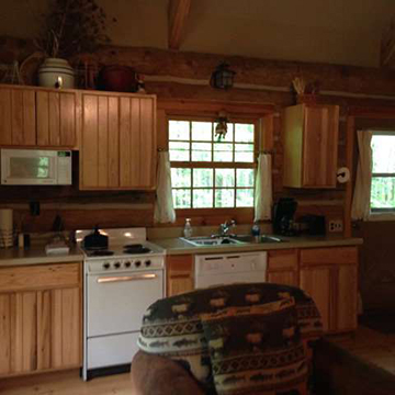 Egg Harbor Log Cabin