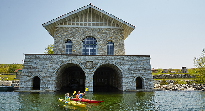 Rock Island Boathouse
