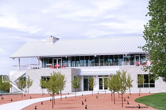 Donald & Carol Kress Pavilion & Egg Harbor Library (2)