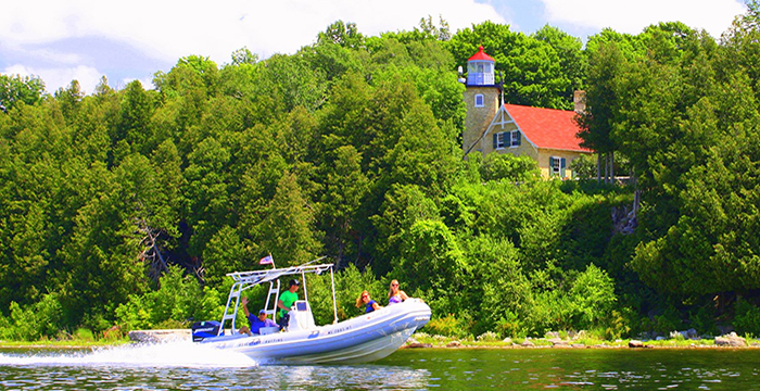 Door County Adventure Rafting - Boat Tours
