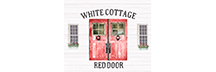 White Cottage Red Door